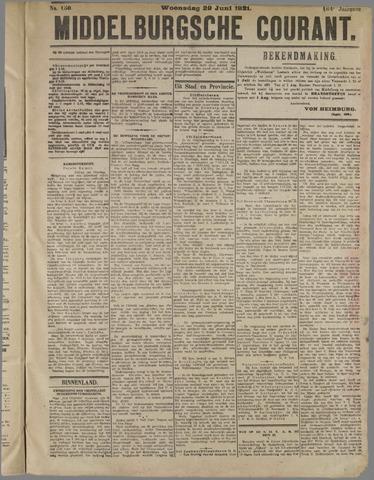 Middelburgsche Courant 1921-06-29