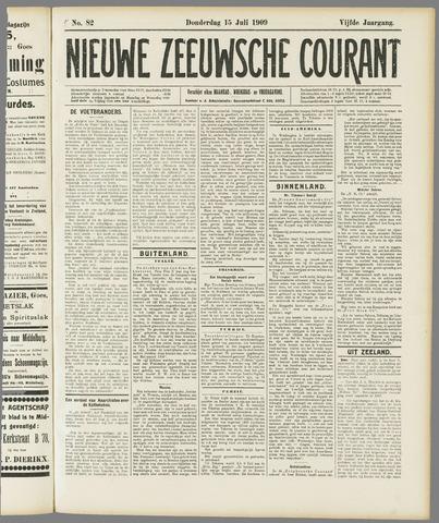 Nieuwe Zeeuwsche Courant 1909-07-15