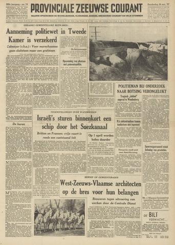 Provinciale Zeeuwse Courant 1957-03-28