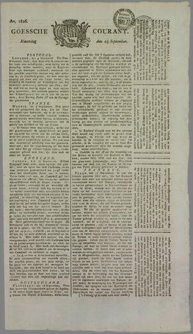 Goessche Courant 1826-09-25