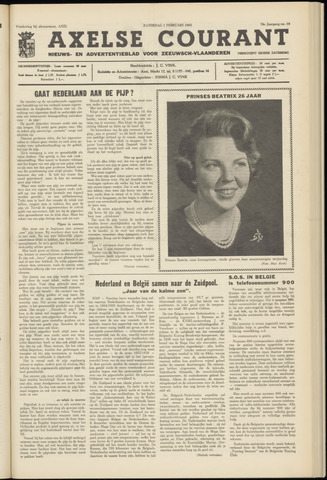 Axelsche Courant 1964-02-01