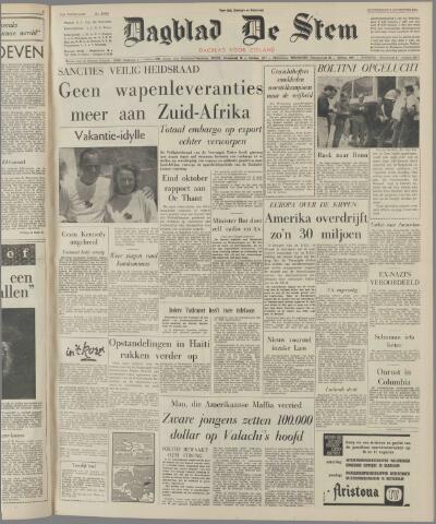 de Stem 1963-08-08