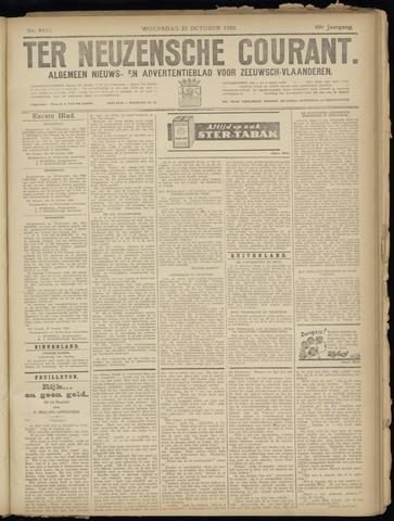 Ter Neuzensche Courant. Algemeen Nieuws- en Advertentieblad voor Zeeuwsch-Vlaanderen / Neuzensche Courant ... (idem) / (Algemeen) nieuws en advertentieblad voor Zeeuwsch-Vlaanderen 1929-10-23