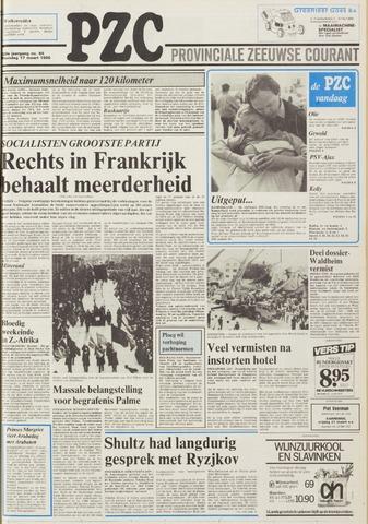 Provinciale Zeeuwse Courant 1986-03-17