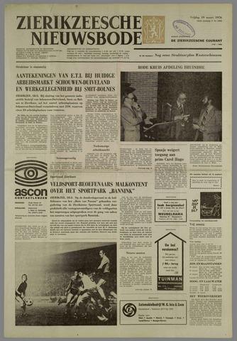 Zierikzeesche Nieuwsbode 1976-03-19