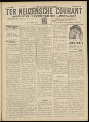 Ter Neuzensche Courant. Algemeen Nieuws- en Advertentieblad voor Zeeuwsch-Vlaanderen / Neuzensche Courant ... (idem) / (Algemeen) nieuws en advertentieblad voor Zeeuwsch-Vlaanderen 1938-11-09
