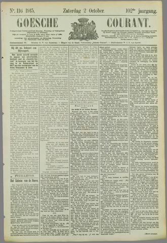 Goessche Courant 1915-10-02