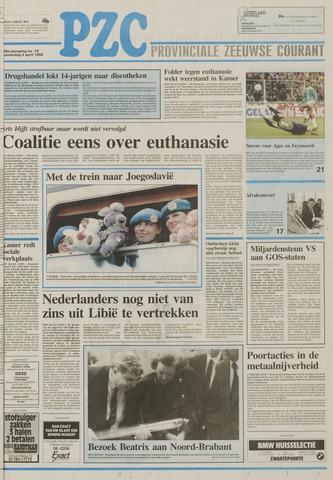 Provinciale Zeeuwse Courant 1992-04-02