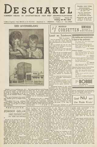 De Schakel 1954-05-28