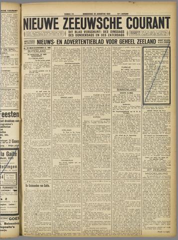 Nieuwe Zeeuwsche Courant 1923-08-23