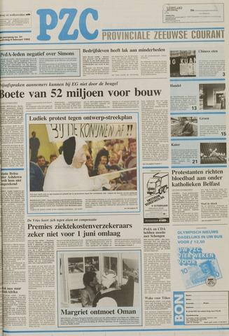 Provinciale Zeeuwse Courant 1992-02-06