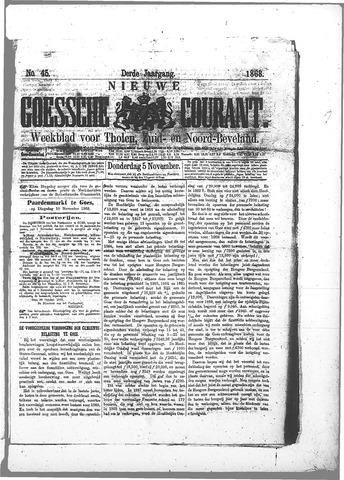 Nieuwe Goessche Courant 1868-11-05