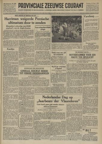 Provinciale Zeeuwse Courant 1951-09-18