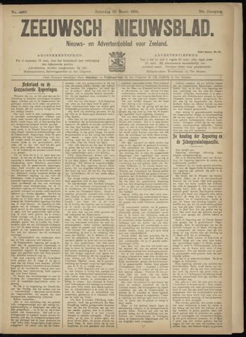 Ter Neuzensch Volksblad. Vrijzinnig nieuws- en advertentieblad voor Zeeuwsch- Vlaanderen / Zeeuwsch Nieuwsblad. Nieuws- en advertentieblad voor Zeeland 1918-03-23