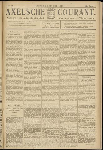Axelsche Courant 1936-03-03