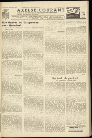 Axelsche Courant 1956-11-14