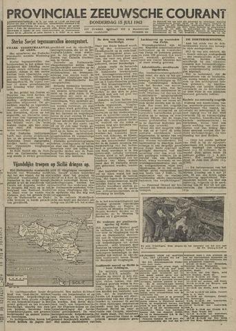 Provinciale Zeeuwse Courant 1943-07-15