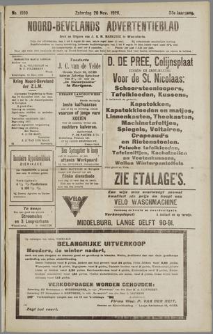 Noord-Bevelands Nieuws- en advertentieblad 1926-11-20
