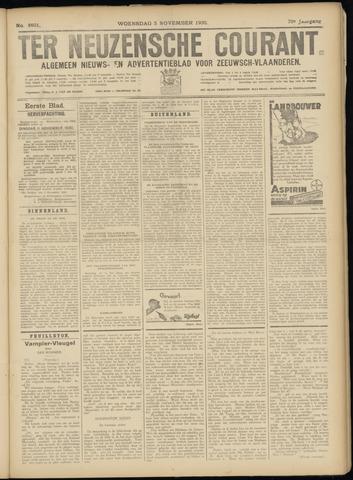 Ter Neuzensche Courant. Algemeen Nieuws- en Advertentieblad voor Zeeuwsch-Vlaanderen / Neuzensche Courant ... (idem) / (Algemeen) nieuws en advertentieblad voor Zeeuwsch-Vlaanderen 1930-11-05