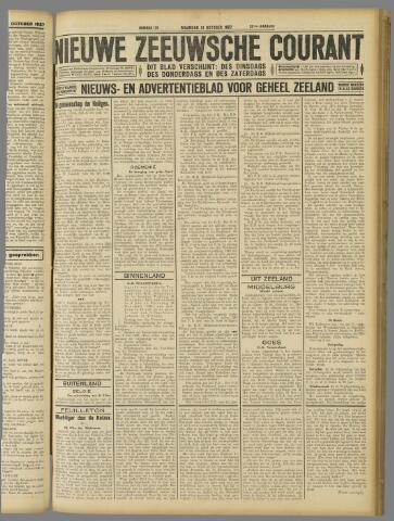 Nieuwe Zeeuwsche Courant 1927-10-31