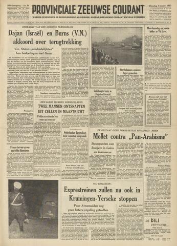 Provinciale Zeeuwse Courant 1957-03-05