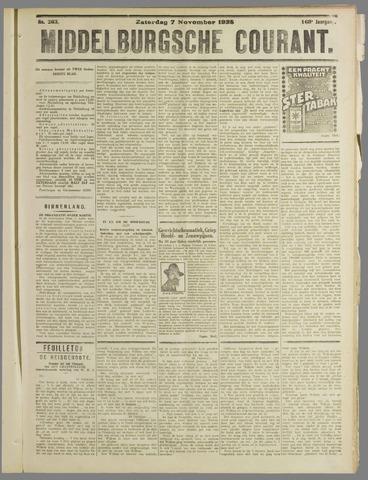 Middelburgsche Courant 1925-11-07