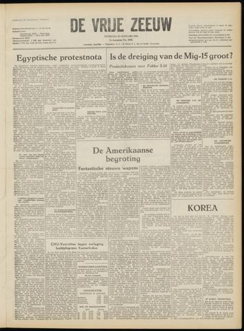 de Vrije Zeeuw 1952-01-22