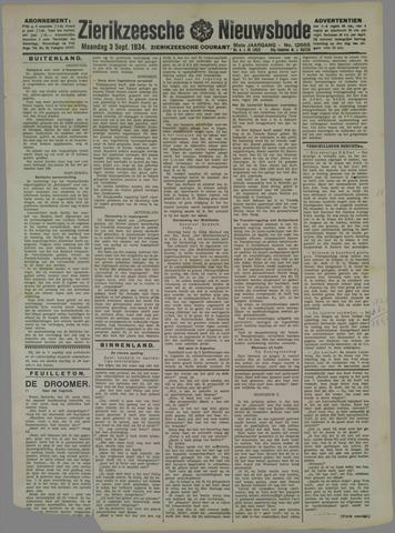 Zierikzeesche Nieuwsbode 1934-09-03