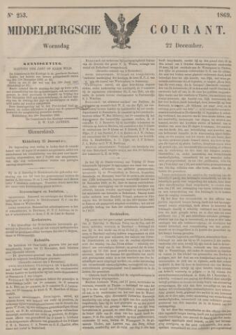 Middelburgsche Courant 1869-12-22