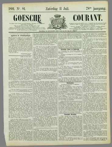 Goessche Courant 1891-07-11