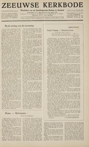 Zeeuwsche kerkbode, weekblad gewijd aan de belangen der gereformeerde kerken/ Zeeuwsch kerkblad 1959-03-20