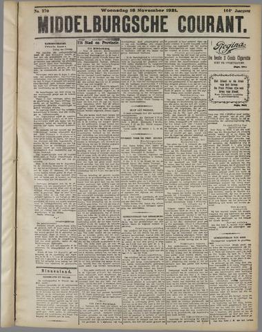 Middelburgsche Courant 1921-11-16