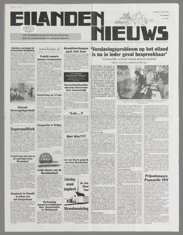 Eilanden-nieuws. Christelijk streekblad op gereformeerde grondslag 2004-04-20