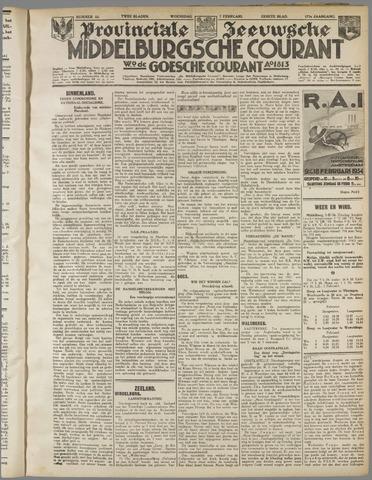Middelburgsche Courant 1934-02-07