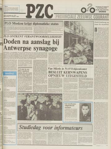 Provinciale Zeeuwse Courant 1981-10-21