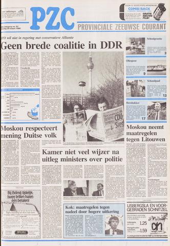 Provinciale Zeeuwse Courant 1990-03-20