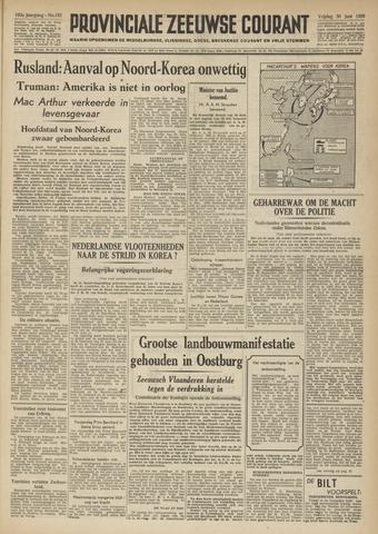 Provinciale Zeeuwse Courant 1950-06-30