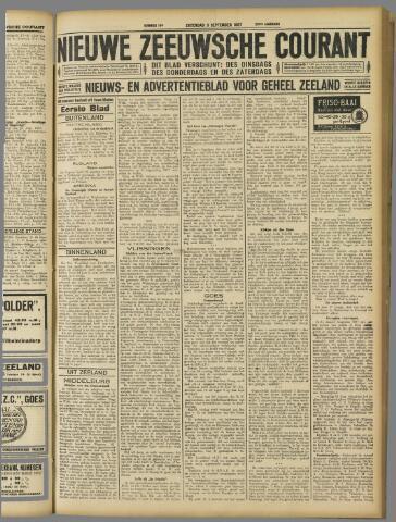 Nieuwe Zeeuwsche Courant 1927-09-03