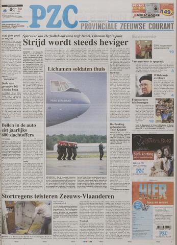 Provinciale Zeeuwse Courant 2006-08-03