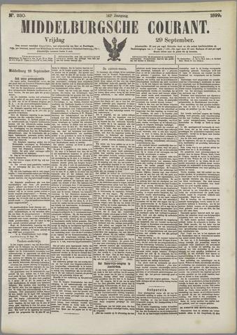 Middelburgsche Courant 1899-09-29