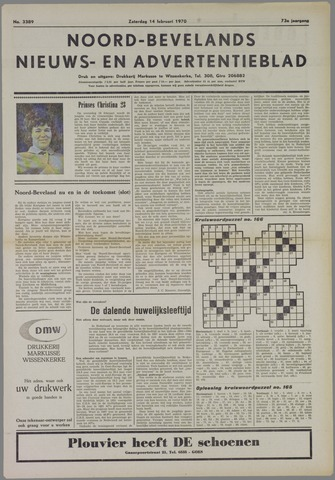Noord-Bevelands Nieuws- en advertentieblad 1970-02-14