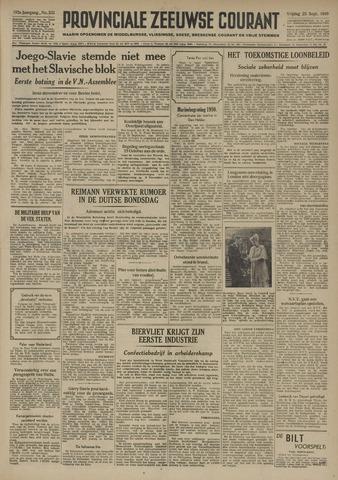 Provinciale Zeeuwse Courant 1949-09-23