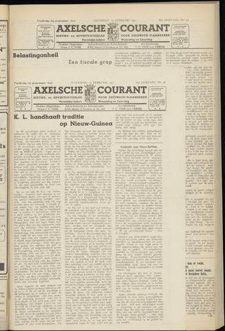 Axelsche Courant 1951-02-14