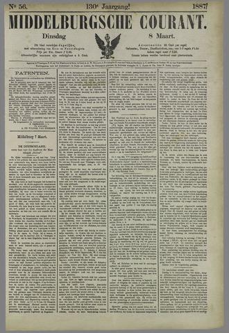 Middelburgsche Courant 1887-03-08
