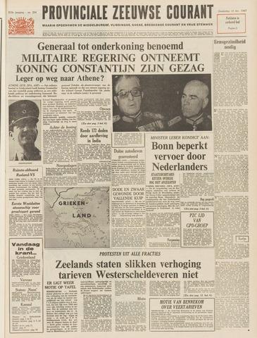 Provinciale Zeeuwse Courant 1967-12-14