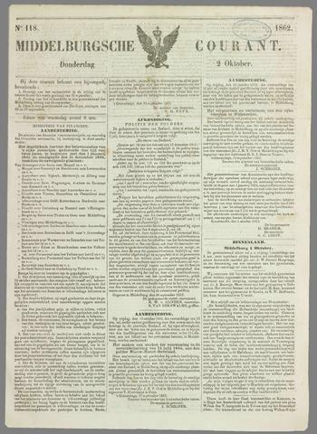Middelburgsche Courant 1862-10-02