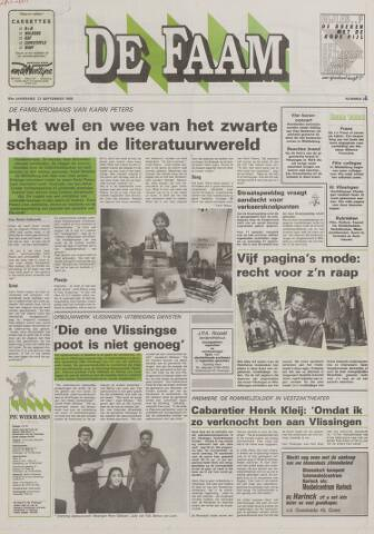 de Faam en de Faam/de Vlissinger 1988-09-21