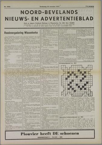 Noord-Bevelands Nieuws- en advertentieblad 1973-11-29