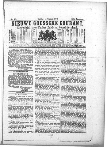 Nieuwe Goessche Courant 1876-02-04