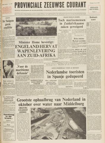 Provinciale Zeeuwse Courant 1970-07-21
